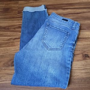 Kut From The Kloth Ankle Straight Leg Jeans
